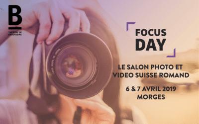 Découvrez Focus Day, le salon photo et vidéo romand